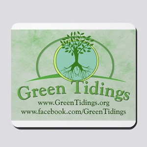 Green Tidings Image Mousepad