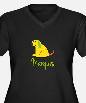 Marquis Loves Puppies Plus Size T-Shirt