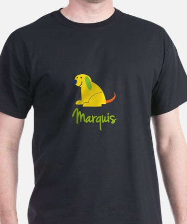 Marquis Loves Puppies T-Shirt