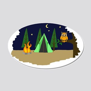 Campsite Wall Decal