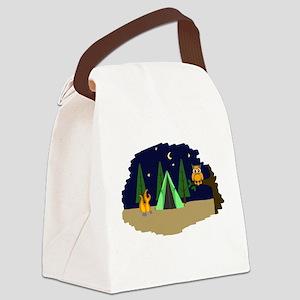 Campsite Canvas Lunch Bag