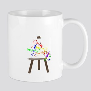 Artist Easel Mug