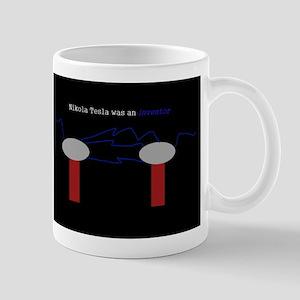 Nikola Tesla was an inventor Mug