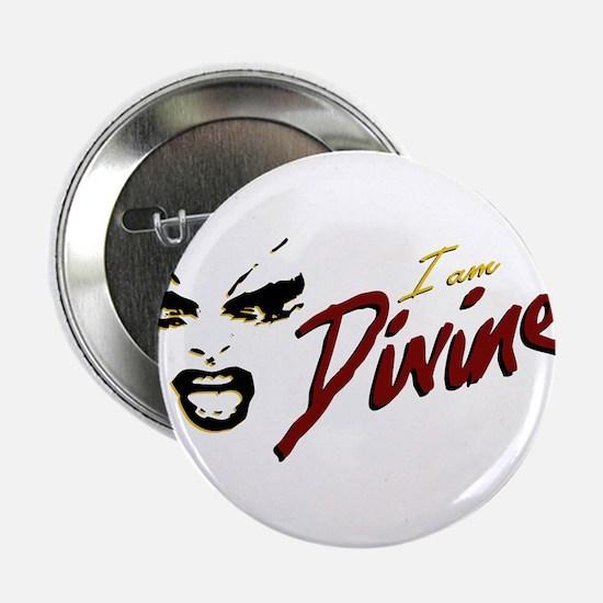 """I AM DIVINE Movie Logo 2.25"""" Button"""