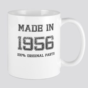 MADE IN 1956 100 PERCENT ORIGINAL PARTS Mug