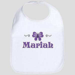 Purple Butterfly - Mariah Bib