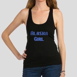 alaska girl Racerback Tank Top