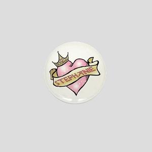 Sweetheart Stephanie Custom Princess Mini Button