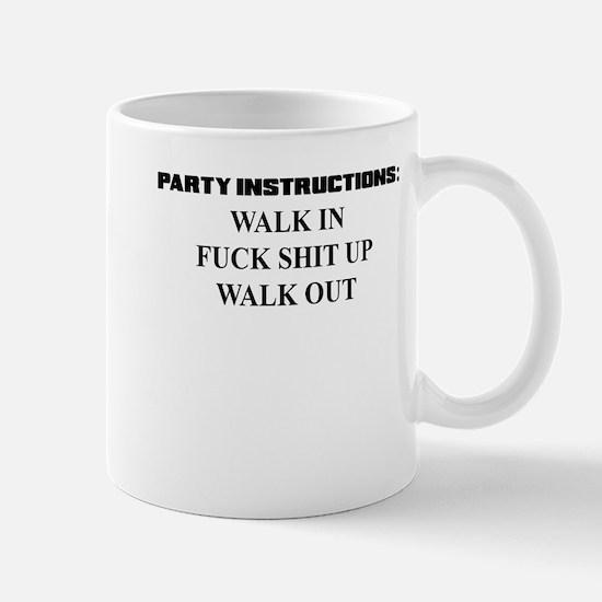 PARTY INSTRUCTIONS Mug