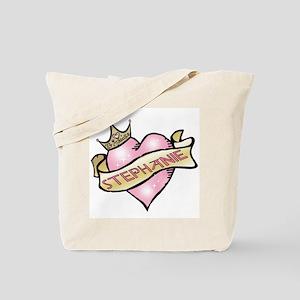 Sweetheart Stephanie Custom Princess Tote Bag