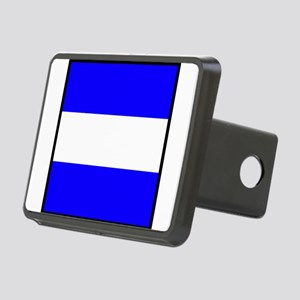 Nautical Flag Code Juliet Hitch Cover