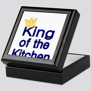 King of the Kitchen Keepsake Box