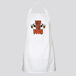 Here For The Boos Light Apron