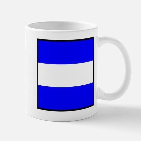 Nautical Flag Code Juliet Mug