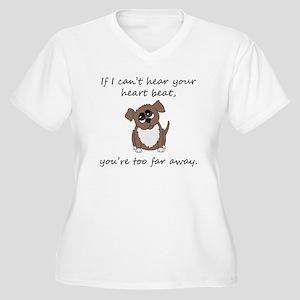Dog Love Plus Size T-Shirt