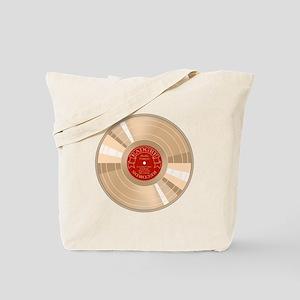 Gold Record Tote Bag