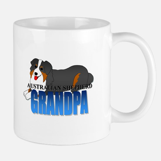Australian Shepherd Grandpa Mug