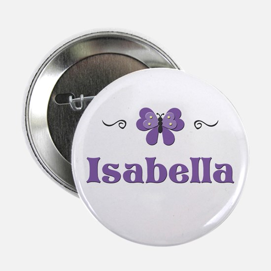 Purple Butterfly - Isabella Button
