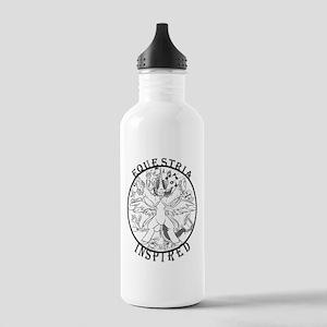 Greyscale EquIn Logo Water Bottle