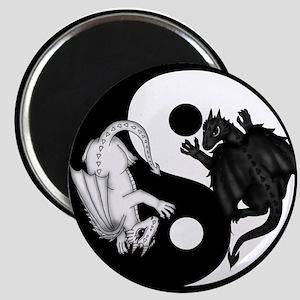 Dragons Ying Yang Magnet