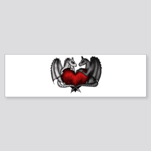 Dragons in Love Bumper Sticker