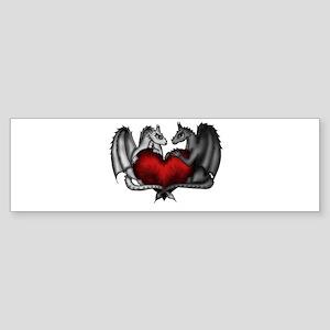 Dragons in Love Bumper Sticker