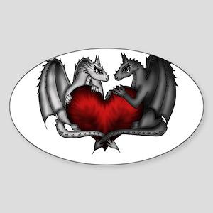 Dragons in Love Sticker
