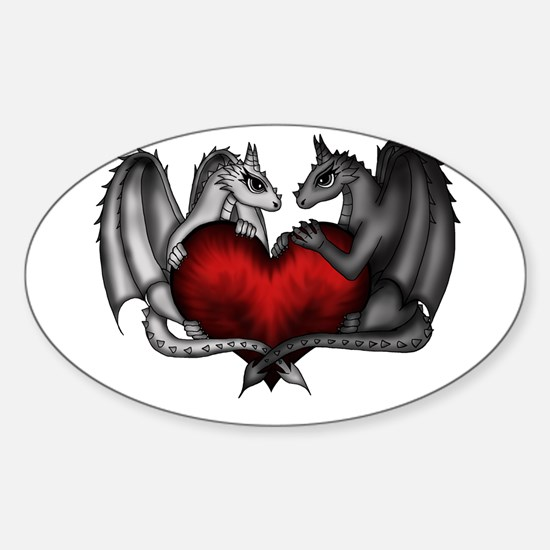 Dragons in Love Decal