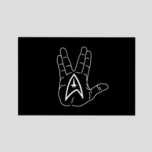 Live Long And Prosper Rectangle Magnet
