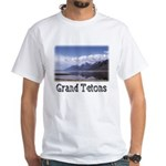 Grand Tetons--White T-Shirt