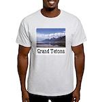 Grand Tetons--Ash Grey T-Shirt