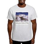 Hot Springs Yellowstone Ash Grey T-Shirt