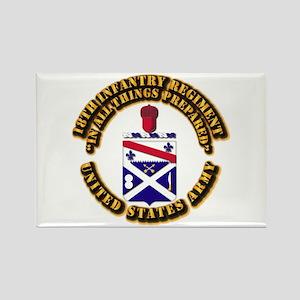 COA - 18th Infantry Regiment Rectangle Magnet