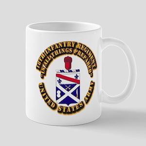 COA - 18th Infantry Regiment Mug