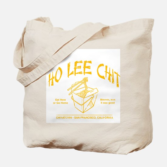 HO LEE CHIT chinese restaurant funny t-shirt Tote