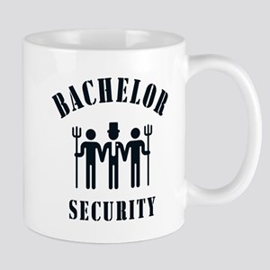 Bachelor Security (Stag Night / Black) Mug