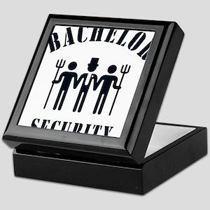 Bachelor Security (Stag Night / Black) Keepsake Bo