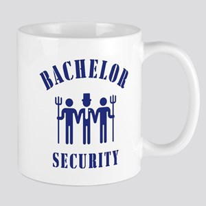 Bachelor Security (Stag Night / Blue) Mug