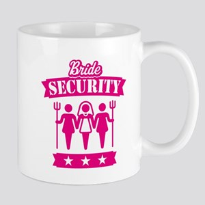 Bride Security (Hen Party / Pink) Mug