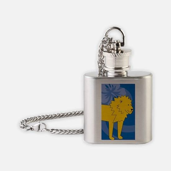 Lion Flask Necklace