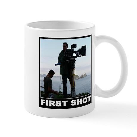 FIRST SHOT Mug