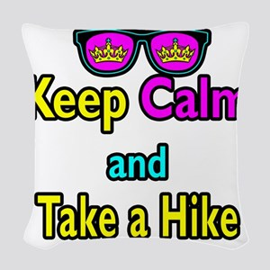 Crown Sunglasses Keep Calm And Take a Hike Woven T