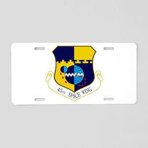 45th SW Aluminum License Plate