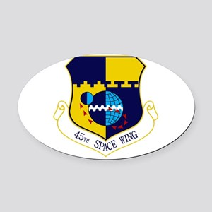 45th SW Oval Car Magnet