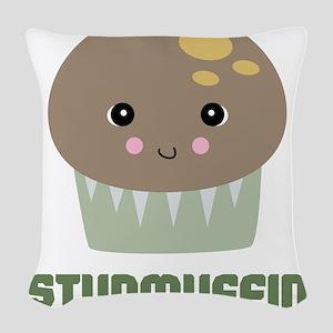 studmuffin Woven Throw Pillow