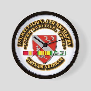 1st Battalion, 7th Artillery Wall Clock
