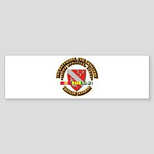 1st Battalion, 7th Artillery Sticker (Bumper)