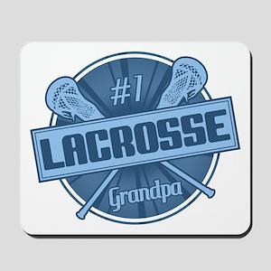 #1 Lacrosse Grandpa Mousepad