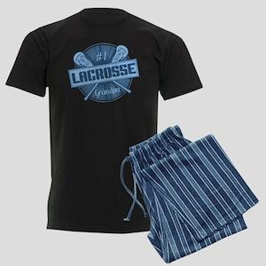#1 Lacrosse Grandpa Pajamas