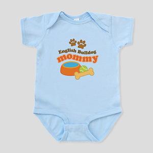 English Bulldog Mom Infant Bodysuit